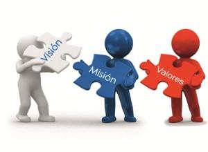 mision vision y valores de una empresa