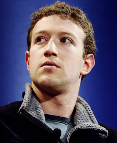 Mark Zuckerberg, founder of Facebook, participates in a discussion during the World Economic Forum in Davos, Switzerland, Thursday, Jan. 25, 2007. Photographer: Daniel Acker/Bloomberg News. Original Filename: 15071341_H239764.jpg
