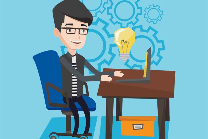 Trabajo oficina notebook ingreso pasivo inteligente for Oficinas para buscar trabajo
