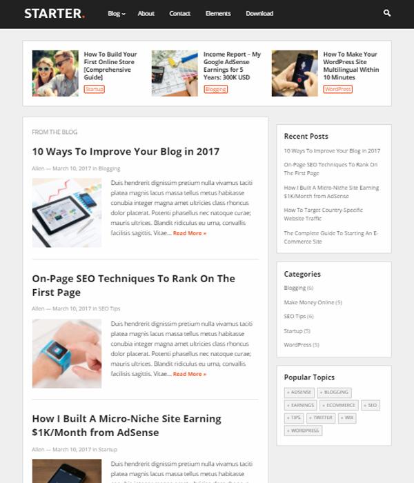 ▷ Las 88 Mejores Plantillas WordPress Premium →( y Responsive) 2018